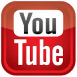 Youtube logo link button